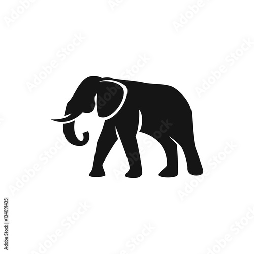 elephant icon illustration