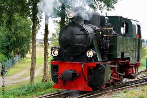 Poster steam locomotive