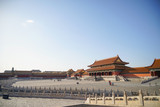 architecture building and decoration of the Forbidden City in Beijing,China