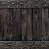 medieval gate wood background
