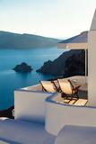 Santorini, Grecja, Oia - Luksusowy Resort z pięknym widokiem na morze