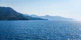 Rejs po Morzu Egejskim - Widok na wyspy wulkaniczne na horyzoncie