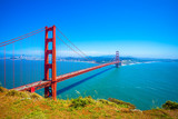 Most Golden Gate w San Francisco w Kalifornii, USA