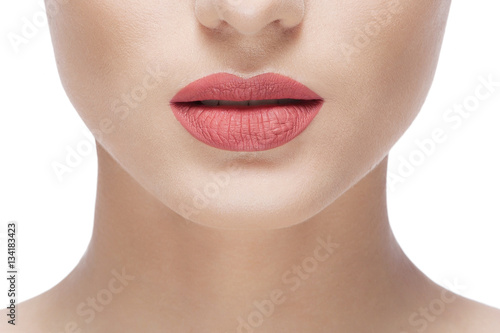 woman natural lips Poster