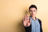 gesture of stop