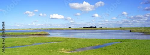 In de dag Noordzee NESSMERSIEL ( Ostfriesland )