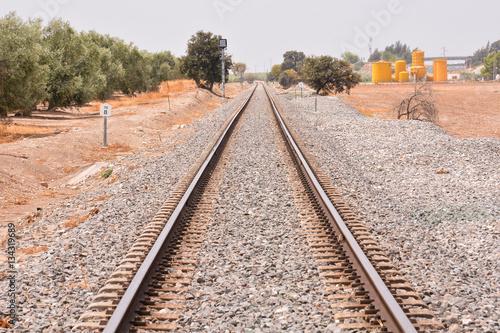 Poster Train Rail Road