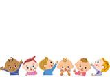 上を見る赤ちゃん - 134325009