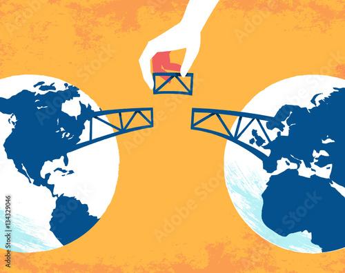 mata magnetyczna Uniamo il mondo