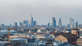 Cityscape of Milan, Italy