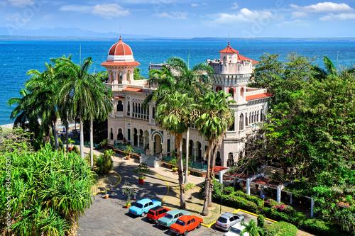 Palacio de Valle in Cienfuegos, Kuba Poster