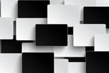 Optical illusion black and white