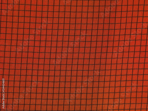 Poster red and black checkered