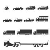 Fototapety car icons