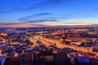 Vista de Lisboa no Por do Sol,Portugal