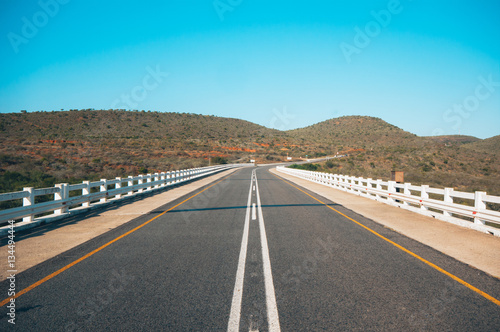 Poster Bridge over Great Fish river, Eastern Cape, South Africa