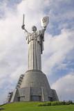 Ukraine. Kiev. Memorial Complex of Museum of the Great Patriotic War. Motherland.