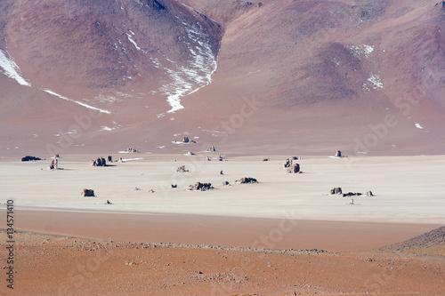 Poster deserto di alta quota