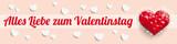 Fototapety Alles Liebe zum Valentinstag Header