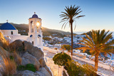 View of Chora on Ios island early in the morning. - 134586459