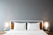 Modern bedroom design, Double bed - 134587431