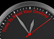 Time meet your destiny
