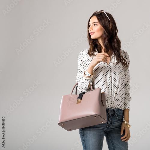 Plakat Fashion woman shopping