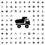 toy car icon illustration