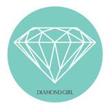 Arte stampabile, diamante sullo sfondo blu tiffany circolare - 134627246