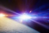 Catastrophic stellar explosion of supernova