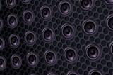 series of speakers of the loudspeaker, seamless texture effect