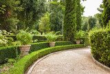 Fototapety Fountains and garden of Villa d`Este, Tivoli near Roma, Lazio region, Italy.