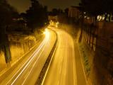Straße nachts in Rom