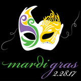 Mardi Gras Mask 2017