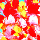 modern abstract interior painting, illustration, wallpaper