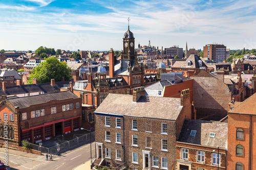 Keuken foto achterwand Noord Europa Panoramic view of York, England