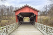 Shaeffer Campbell Covered Bridge in St. Clairsville, Ohio