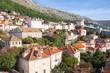 South-western part of Dubrovnik City walls. Croatia.