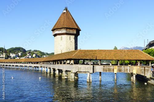 Kapellbrücke in Luzern Poster