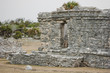 Ancient Mayan Architecture and Ruins located in Tulum, Mexico of