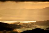 Fototapeta Nature - Sunrise in the Polish mountains. Fot. Konrad Filip Komarnicki / EAST NEWS Krynica - Zdroj 28.12.2015 Wschod slonca na Jaworzynie Krynickiej. © Konrad