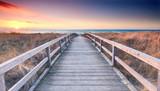 Fototapety Strandübergang zur Ostsee - Frühling