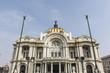 Facade of the Palacio de Bellas Artes in Mexico City, Mexico (North America)