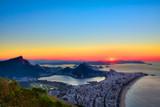 Sunrise in Rio de Janeiro, Brazil