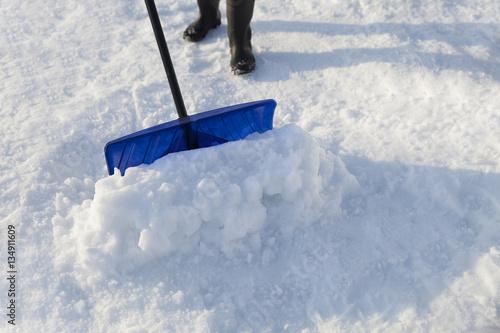 Poster 除雪