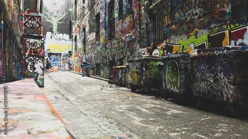 Graffiti alley - 134911895