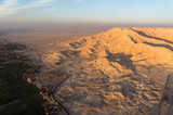 Balloon flight in Luxor, beautiful view from sky