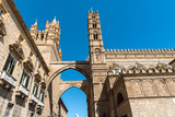 Part of the cathedral of Palermo in Sicily, Italy