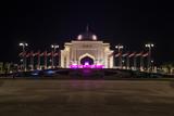 A Presidential Palace entry, Abu Dhabi