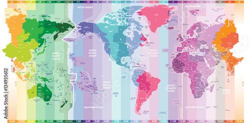 wektorowe-standardowe-strefy-czasowe-swiatowej-mapy-politycznej-skupione-w-ameryce